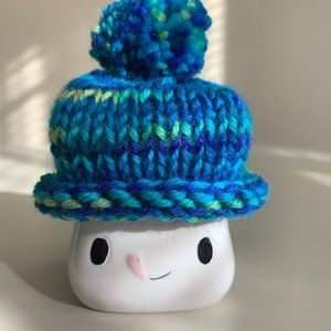 Shades of Blue Marshmallow Mug Hat